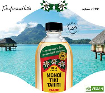 Monoi Tiki Tahiti Tiaré